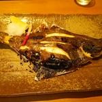寿司割烹 豊 - カレイ塩焼き