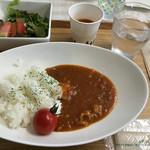 谷口農場直売店&カフェ まっかなトマト - トマトカレー