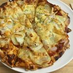 谷口農場直売店&カフェ まっかなトマト - 北あかりのピザ