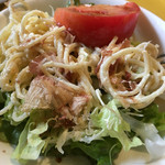 こうひいはうす - 和風サラダ、美味しいです。