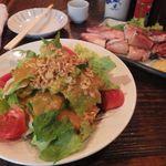 つなん - 大盛サラダ[330円]
