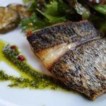 ミラコロ - 伊豆の地魚 黒鯛のポワレ イタリアンパセリのソース