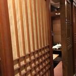 信州焼肉 NAMSAN - 店内(個室)