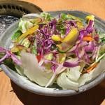 信州焼肉 NAMSAN - 野菜サラダ