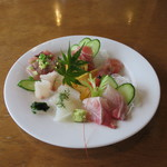 レストラン四季菜 - 刺身盛り合わせ