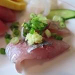 レストラン四季菜 - 鯵アップ