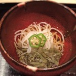 53316398 - ジュンサイ入り鱧素麺