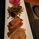 月うさぎ - 料理写真:前菜4種。