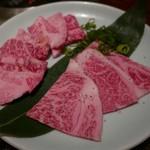 焼肉 大仙 - 和牛カルビ(1080円)和牛ロース(1150円)
