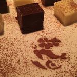 シギラバー ノース 24 - 手作りの生チョコレート。フルーティな大人の味。右下はシギラリゾートのマークだそうです。