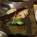 53318241 - 銀鱈の吟醸酒粕味噌漬炙り