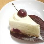 53321281 - チェリーのレアチーズケーキ