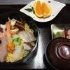 寿司一作 - 料理写真:海鮮ちらし(お昼限定 赤だし付き)