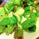 パパマンマ - 【要予約です】フレッシュマッシュルームと、サクサクお揚げさんのサラダ