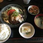 てんてん亭 - おろしハンバーグ定食
