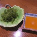 Mitsukobabanodaidokoro - 「海ぶどう」(¥490)