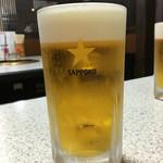 あさひ家 - ドリンク写真:生ビール