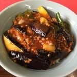 中国料理 東華園 - 麻婆茄子丼