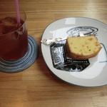 メイ カフェ - 自家製パウンドケーキセット