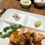 ベジバーン - 2016.7.8 カリッとチキンの野菜バルサミコ風