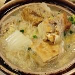 叙楽苑 - 白菜の酸っぱいスープ