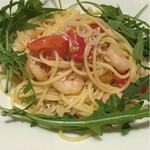 バルピノーロ - 湘南しらすと小海老のペペロンチーノ スパゲッティ