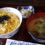 大門 - 料理写真:親子丼