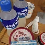 ファミリーマート - ドリンク写真:練乳あずき冷たいうちに召し上がれ