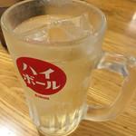 大阪王将 本八幡店 - 金曜日のハイボール(^∇^)