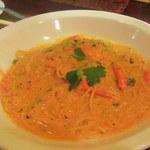 ビストロ ドンナ - ズワイガニのトマトクリームパスタ