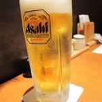 53332529 - まずはビールでかんぱ~い!