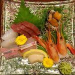 みと浜 - 上刺身定食。みと浜(豊田市)食彩品館.jp撮影