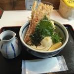 麺くい やまちゃん - ちく玉天ぶっかけ(780円)