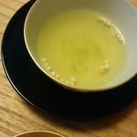 菊乃井 - 最初の煎茶はぶぶあられいり(*^^*)