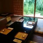 菊乃井 - お部屋からの緑が綺麗や!