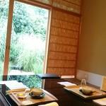 菊乃井 - 僕の席からの眺め