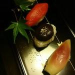 菊乃井 - お漬物寿司!