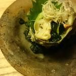 菊乃井 - サザエとつぶ貝の贅沢すぎる酢の物(笑)