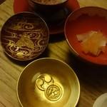 菊乃井 - お店からのお祝い(*^^*)お赤飯と紅白なます