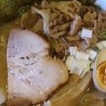 麺極 はなみち - 特・らー麺・豚(アップ)
