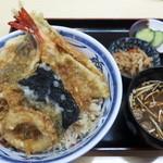 53335175 - 海鮮天丼1,000円(税込)