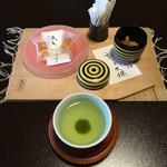 長生館 - 料理写真:お着きのお菓子を頂きました。秩父ゼリー&割り干大根