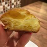ル モマン - 「グジェール」の断面。チーズの芳醇な香りが☆