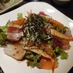 ROKU鮮 - 海鮮ROKU鮮サラダ 918円