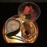 囲炉里庵 花水木 - 甘味:季節のデザート