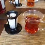 中国料理 翔園 - ライチ紅茶です!とっても香りが良いです♪