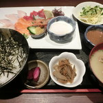 博多 魚市 - 海鮮丼