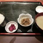 博多 魚市 - 烏賊定食