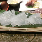 博多 魚市 - 烏賊1杯つくり