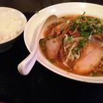 53343014 - チャーシュー麺定食600円